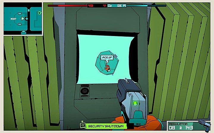Otwórz skrytkę, dzięki czemu będziesz mógł zabrać klucz Warp Key - Jak zdobywać klucze Warp Key w Void Bastards? - Void Bastards - poradnik do gry