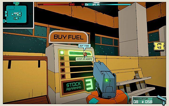 Drugi sposób to zakupienie paliwa na jednym ze statków Krell-Mart - Jak zdobywać paliwo w Void Bastards? - Void Bastards - poradnik do gry
