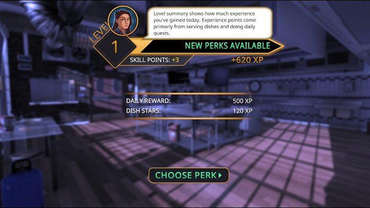 1 - Punkty doświadczenia i poziomy | Mechaniki gry w Cooking Simulator - Cooking Simulator - poradnik do gry