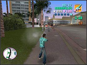 Najlepszym miejscem do prowadzenia ostrza�u jest okolica naprzeciw du�ego budynku, po drugiej stronie ulicy - Numer 13 - Rampage - Grand Theft Auto: Vice City - Encyklopedia - poradnik do gry