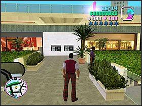 Dopiero odpowiednio przygotowany ruszaj w stronę widocznego na mapie punktu - 02 Mall Shootout - Colonel Cortez - Grand Theft Auto: Vice City - Solucja - poradnik do gry