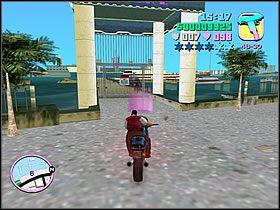 Wsiadaj na swojego wiernego rumaka i gnaj co sił do portu - 02 Mall Shootout - Colonel Cortez - Grand Theft Auto: Vice City - Solucja - poradnik do gry