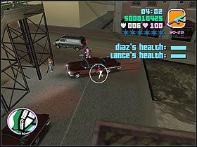 Zaraz w okolicy zjawi się masa wrogich gangsterów - 03 Guardian Angels - Colonel Cortez - Grand Theft Auto: Vice City - Solucja - poradnik do gry