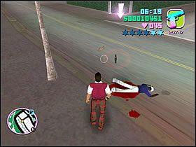 Uciekinier ginąc zostawił walizkę - 03 Guardian Angels - Colonel Cortez - Grand Theft Auto: Vice City - Solucja - poradnik do gry