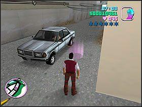 Jedź z powrotem na miejsce spotkania - 03 Guardian Angels - Colonel Cortez - Grand Theft Auto: Vice City - Solucja - poradnik do gry