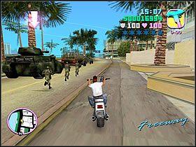 Wsiadaj w jakąś szybką furę i ruszaj do nowej części miasta - 04 Sir, Yes Sir! - Colonel Cortez - Grand Theft Auto: Vice City - Solucja - poradnik do gry