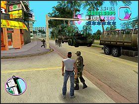 Niestety czołg jest zamknięty i normalnie nie możesz się do niego dostać - 04 Sir, Yes Sir! - Colonel Cortez - Grand Theft Auto: Vice City - Solucja - poradnik do gry