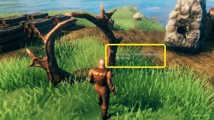 После получения определенных ресурсов постройте первый портал в выбранном вами месте - Valheim: Portals - Valheim game guide