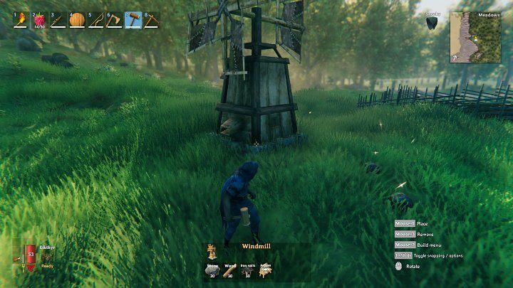 Прежде чем вы сможете построить ветряную мельницу, вам сначала нужно будет построить стол ремесленников и, таким образом, победить одного из боссов в Вальхейме - Модер, чтобы получить предмет «Слеза дракона» - Valheim: Windmill - Valheim Game Guide