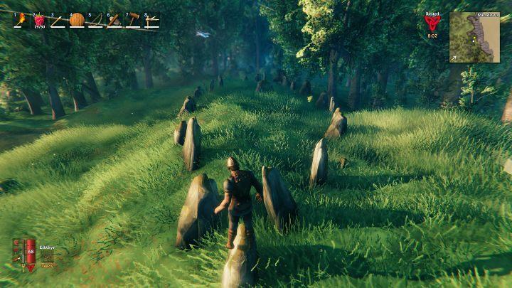 Сокровища в игровом мире Valhem зарыты в очень характерных местах, отмеченных камнями, которые были расположены таким образом, чтобы создавать форму корабля - Valheim: Zakopany treasure / Buried Treasure - как найти? - Руководство по игре Valheim