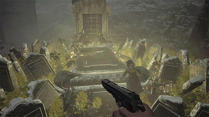Вы впервые достигнете значка золотого сундука во время своего путешествия в Дом Беневьенто - Resident Evil Village: Золотые сундуки - карта, описания, список всего - Руководство по игре Resident Evil Village