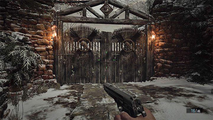 Вы можете впервые добраться до значка золотого сундука, путешествуя к месту нахождения Моро - Resident Evil Village: Золотые сундуки - карта, описания, список - Руководство по игре Resident Evil Village