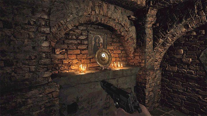 Вы можете впервые добраться до золотого сундука после победы над боссом-молотом в Stronghold - Resident Evil Village: Gold Chests - карта, описания, список всего - Resident Evil Village Game Guide