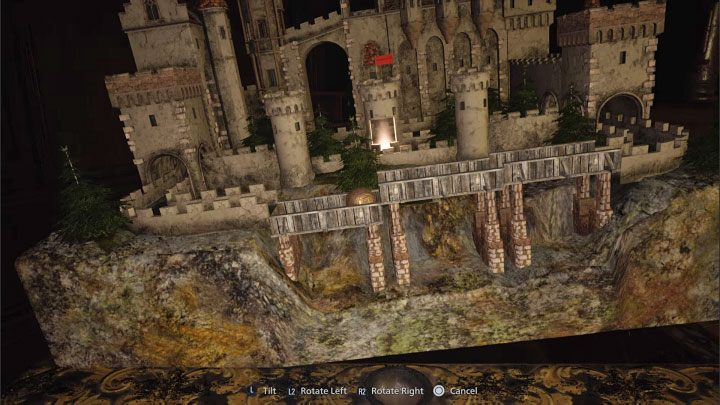 Вернитесь к макету с мячом - Resident Evil Village: The maze puzzle - Labyrinth Puzzle - Resident Evil Village Game Guide