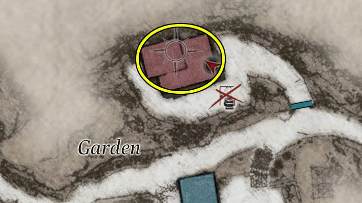 Вторую модельную головоломку можно найти в саду, но эта локация становится доступной только после победы над Донной Беневьенто в локации Дом Беневьенто и на обратном пути в основную часть деревни - Resident Evil Village: Загадка лабиринта - Загадка лабиринта - Resident Evil Village - гайд по игре
