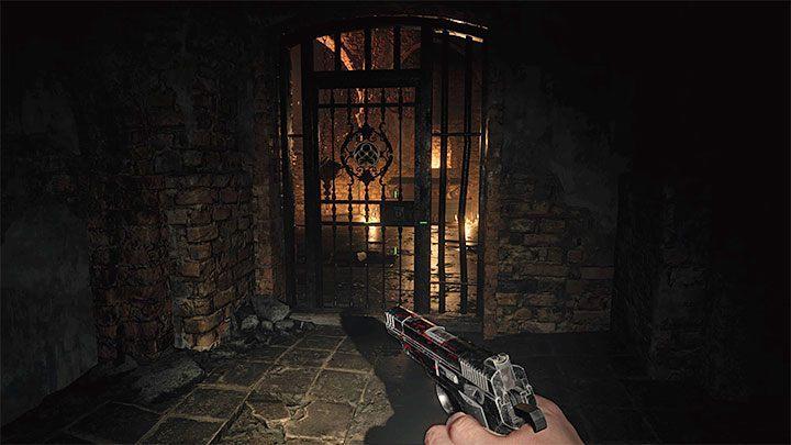 Подземелье находится на уровне B1, и вы можете попасть туда со стороны кухни, смежной с главным залом - Resident Evil Village: Treasure Map - где сокровище? - Руководство по игре Resident Evil Village