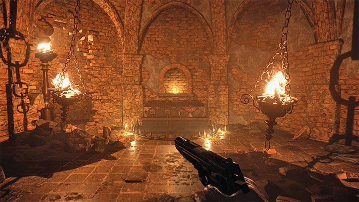 Это еще не все, потому что вам также нужно зажечь вторую жаровню - Resident Evil Village: Treasure Map - где сокровище? - Руководство по игре Resident Evil Village