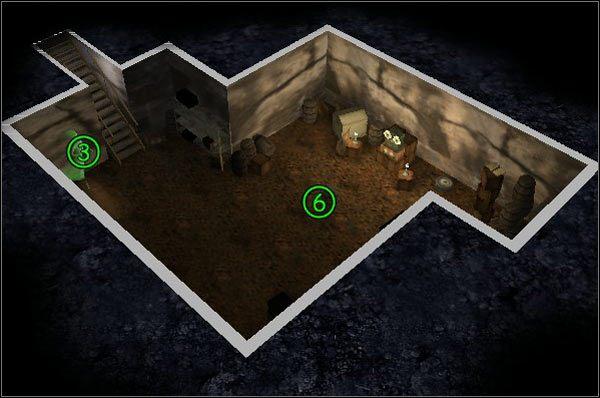 Uwięzione duchy: Deszczułka (1) , Wicherek (2) , Mara Larum (3) - [Poziom 1.4] Gdzie Ściemniak mówi dobranoc - Ghost Master - poradnik do gry