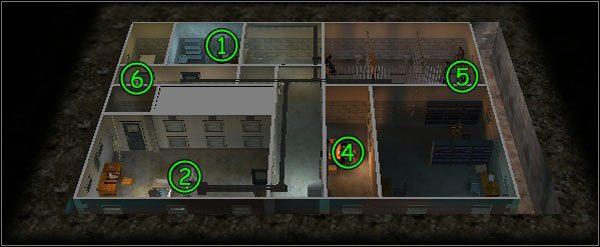 Uwięzione duchy: Haniból Lektor (1) , Postrzałka (2) , Boski krzak (3) (nie widać go - jest uwięziony w doniczce) - [Poziom 2.2] Nieziemscy podejrzani - Ghost Master - poradnik do gry