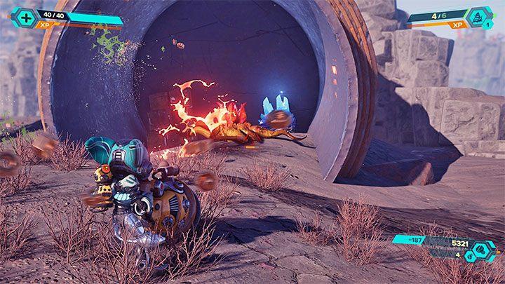 В некоторых сражениях в игре могут появиться дополнительные трудности в виде присоединения к битвам новых врагов - Ratchet & Clank Rift Apart: Начальные советы - Ratchet & Clank Rift Apart Game Guide