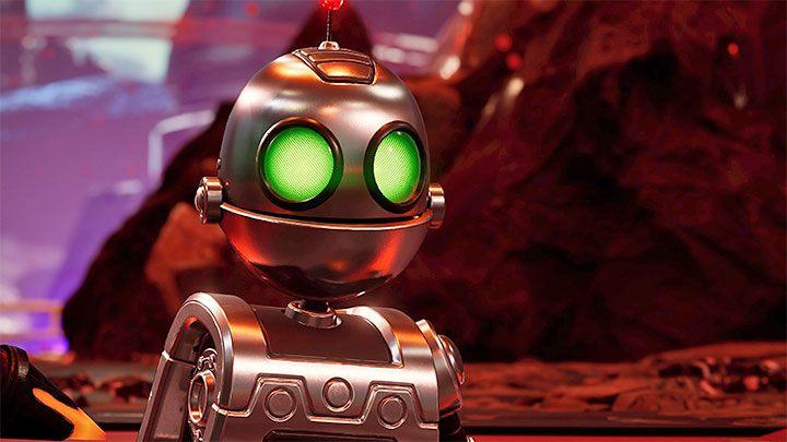 Кланк - маленький робот, который появлялся во всех предыдущих постановках этой серии - Ratchet & Clank Rift Apart: игровые персонажи - Ratchet & Clank Rift Apart Game Guide