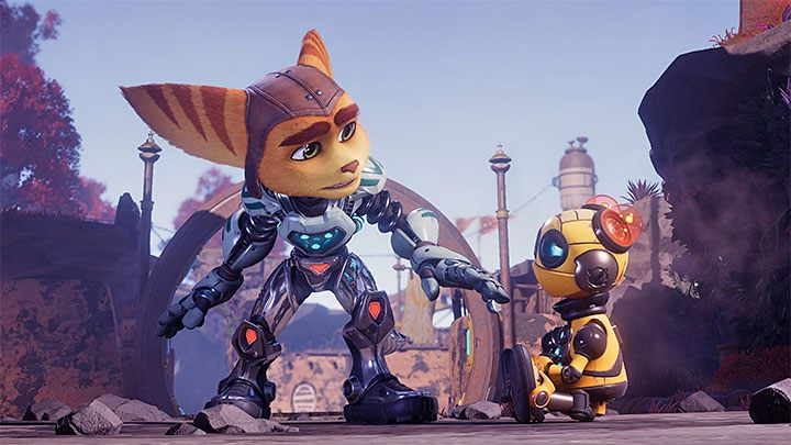 Кит - совершенно новый персонаж, который, как и Кланк, является маленьким роботом - Ratchet & Clank Rift Apart: игровые персонажи - руководство по игре Ratchet & Clank Rift Apart