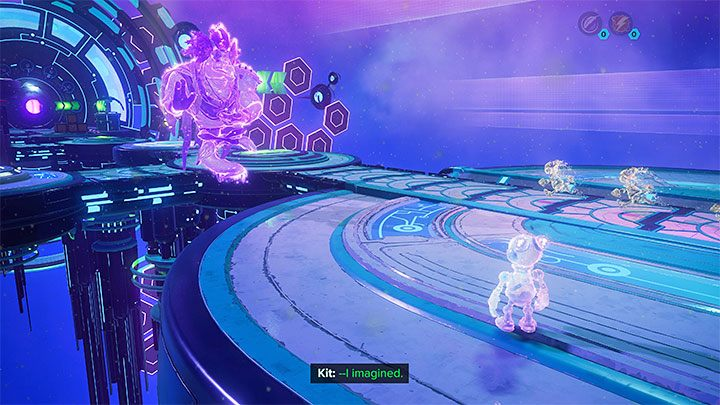 Как и в случае с Clank Kit, он большую часть времени путешествует на спине героя и комментирует события - Ratchet & Clank Rift Apart: игровые персонажи - Руководство по игре Ratchet & Clank Rift Apart