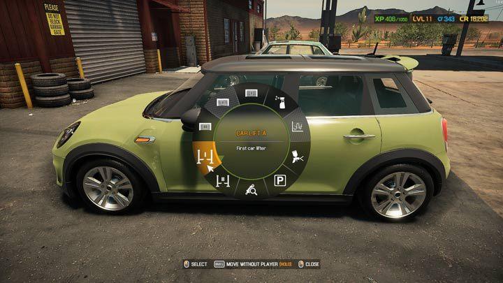 Выберите один из подъемников из доступных вариантов - Car Mechanic Simulator 2021: Замена деталей - Руководство по игре Car Mechanic Simulator 2021