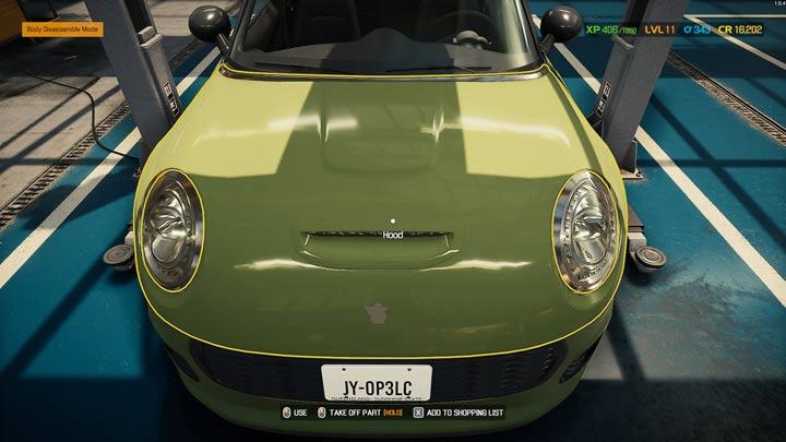 Вы можете оставить машину на земле в гараже, если нужно заменить только детали под капотом - Car Mechanic Simulator 2021: Замена деталей - Гайд по игре Car Mechanic Simulator 2021