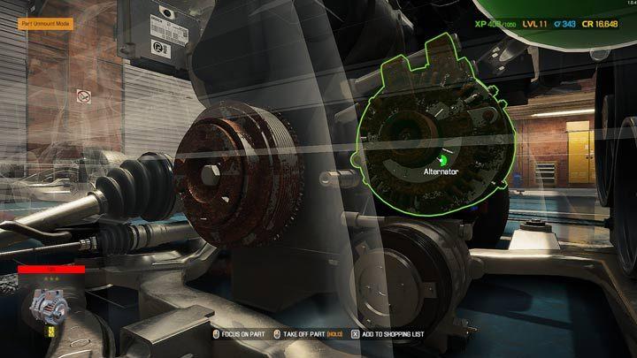 Удалив следующие элементы, вы, наконец, доберетесь до нужных - Car Mechanic Simulator 2021: Замена деталей - Руководство по игре Car Mechanic Simulator 2021