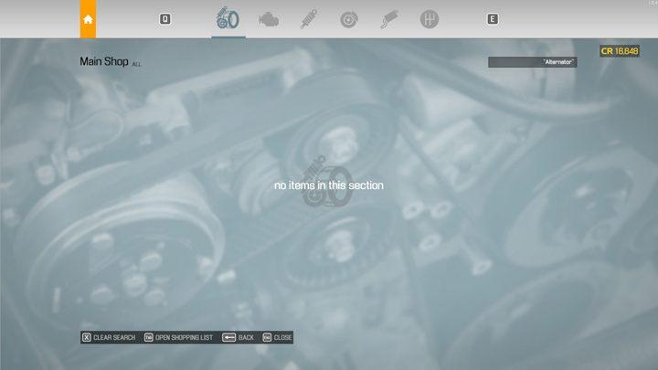 Некоторые предметы доступны только в специализированных магазинах - Car Mechanic Simulator 2021: Замена запчастей - Руководство по игре Car Mechanic Simulator 2021