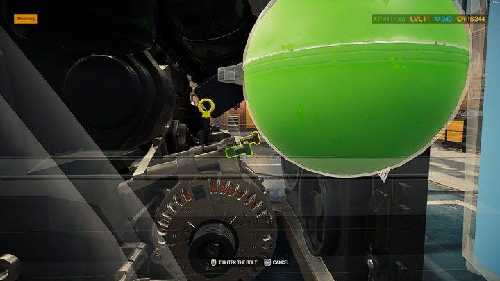 При необходимости затяните все винты, чтобы установить деталь, и переходите к следующему элементу - Car Mechanic Simulator 2021: Замена деталей - Руководство по игре Car Mechanic Simulator 2021
