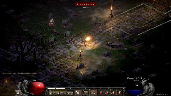 Вы найдете Кровавого Орла посреди кладбища - точнее, она найдет вас - Diablo 2 Resurrected: Sisters 'Graveyard - прохождение, прохождение - Diablo 2 Resurrected - игра