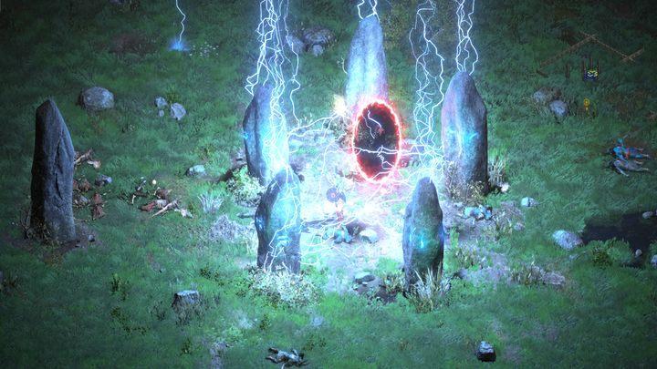 Поговорив с Акарой, вы можете прочитать свиток, чтобы узнать порядок взаимодействия с камнями в Каменном поле - Diablo 2 Resurrected: In Search of Cain - пошаговое руководство, пошаговое руководство - Diablo 2 Resurrected Game Guide