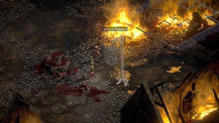 Пройдите через портал - Diablo 2 Resurrected: The Search for Cain - прохождение, прохождение - Diablo 2 Resurrected игра гайд