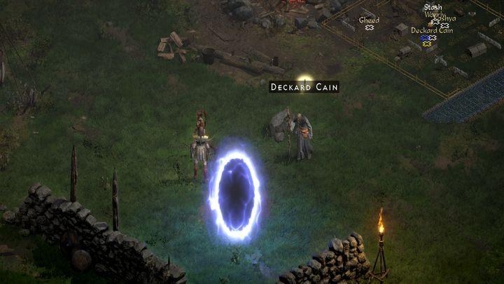 Поговорите с Каином в лагере - Diablo 2 Resurrected: The Search for Cain - прохождение, прохождение - руководство по игре Diablo 2 Resurrected