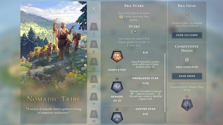 """Чтобы перейти к Древней Эре, вам нужно получить одну из 3 Звезд Эры: В Эру Неолита не так много вариантов развития - Человечество: Древняя Эра - как повысить уровень? - Руководство по игре """"Человечество"""""""