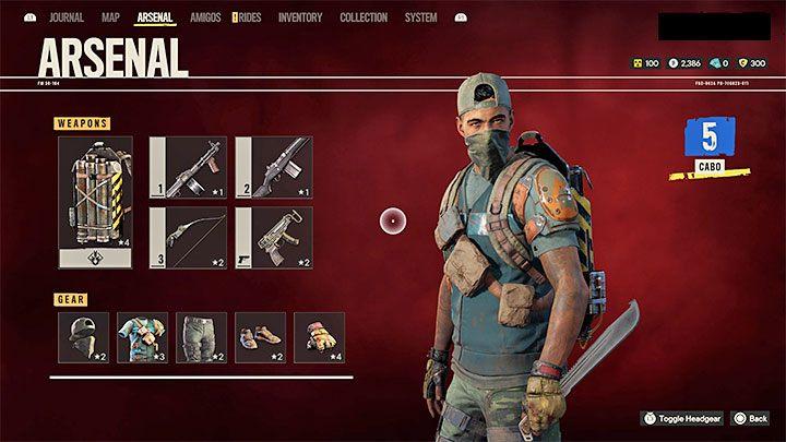 В Far Cry 6 вы можете повысить боевые возможности своего героя, снабдив его все более совершенным снаряжением - Far Cry 6: Советы по началу работы - Руководство по игре Far Cry 6