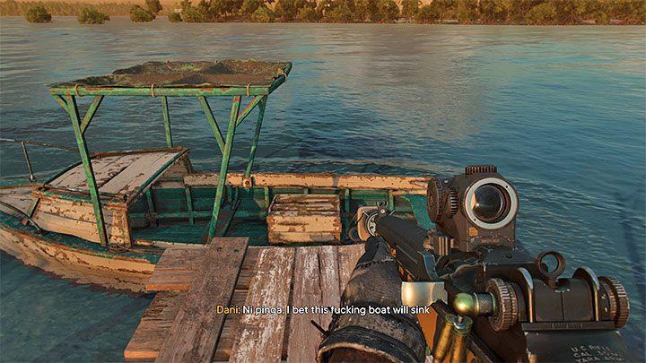 После просмотра кат-сцены не завершайте партизанский квест, а сядьте в лодку - Far Cry 6: Hidden Ending - Руководство по игре Far Cry 6