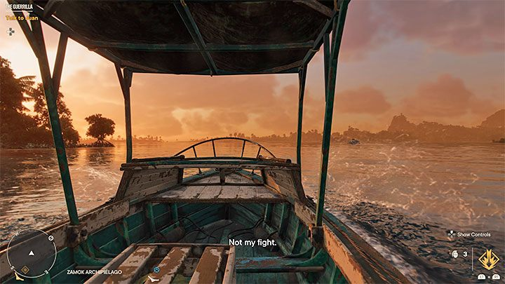 Вам не нужно идти в каком-либо фиксированном направлении - Far Cry 6: Hidden Ending - руководство по игре Far Cry 6