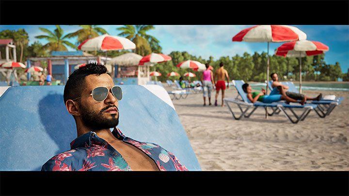 Новая кат-сцена покажет, что герой успешно сбежал из Яры и отдыхает на пляже в тропиках - Far Cry 6: Hidden Ending - Руководство по игре Far Cry 6