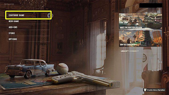 Важное примечание - разблокировка скрытой концовки не приведет к сбросу вашего прогресса, и вам не придется перезапускать всю кампанию - Far Cry 6: Скрытая концовка - Руководство по игре Far Cry 6