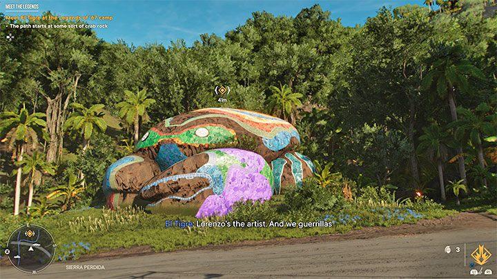 Вам нужно добраться до маркера миссии в Сьерра-Пердида в регионе Эль-Эсте - Far Cry 6: Meet the Legends - прохождение, прохождение - руководство по игре Far Cry 6