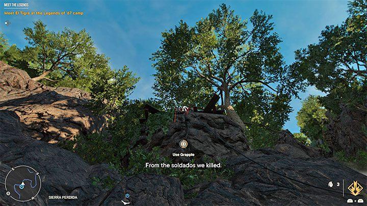 Вы должны выбрать путь рядом с крабом, ведущий на вершину горы, и ожидать очень долгого восхождения - Far Cry 6: Meet the Legends - прохождение, прохождение - руководство по игре Far Cry 6