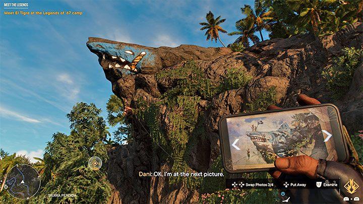 Дальнейшая фаза путешествия не удивит вас какой-либо новой механикой - вам нужно будет снова использовать набор для лазания и уничтожить сети, удерживающие валуны - Far Cry 6: Meet the Legends - пошаговое руководство, прохождение - Far Cry 6 Game Guide