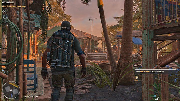 В конечном итоге вы попадете в партизанское убежище Пик Патриот, где игра автоматически установит вид TPP - Far Cry 6: Meet the Legends - пошаговое руководство, пошаговое руководство - руководство по игре Far Cry 6
