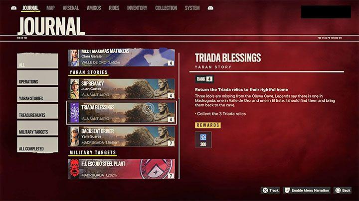 Как разблокировать: завершить Благословение триады из сказки Яран - Far Cry 6: трофеи / достижения - список - руководство по игре Far Cry 6