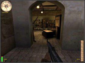 Kolejnym pomieszczeniem, na które musisz uważać jest niewielki składzik z bronią - Bizerte Canal (2) - MISJA 3 - Tunisia - Medal of Honor: Allied Assault - Breakthrough - poradnik do gry