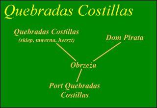 1 - [Mapy] Quebradas Costillas   Piraci z Karaibów - Piraci z Karaibów - poradnik do gry