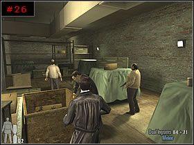 Od razu zdjąłem ich szybkostrzelnym karabinkiem i pozbierał pochowaną w pudelkach amunicję oraz opakowania Painkillers - [PART I] Chapter II - Max Payne 2: The Fall Of Max Payne - poradnik do gry